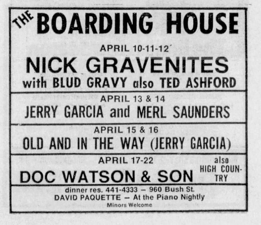 GDSets com - Grateful Dead, Jerry Garcia, Bob Weir, and